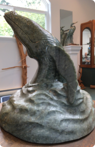 Humpback Whale Sculpture Medium: Brazilian Soapstone
