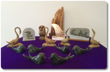 Beautiful Soapstone Gifts - Stone Cottage Gallery - Qualicum Beach